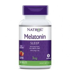 Melatonina Natrol 3 mg Fast Dissolve