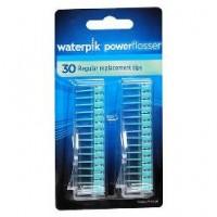Refil com 30 ponteiras clareadoras de nylon para o fio dental elétrico Waterpik®